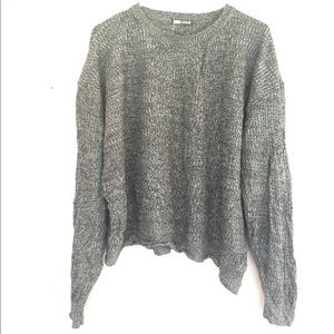Henry Morell Black LS Sweater Large